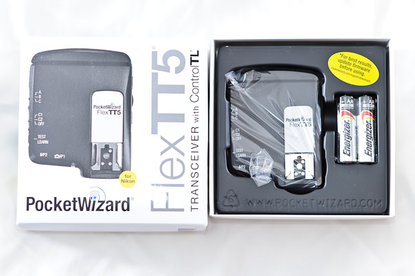 Pocketwizard FlexTT5 MiniTT1 AC3