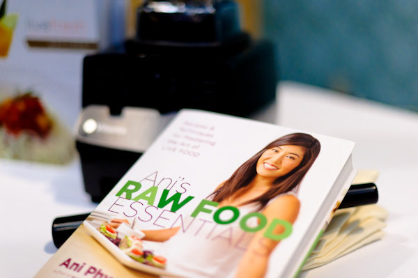 Vitamix and Ani Phyo at Natural Products Expo West